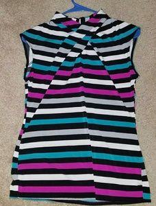 Worthington Blouse Stripes